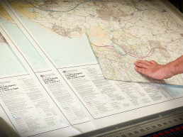 Printing Ordnance Survey map
