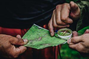 Compass and map #getoutside