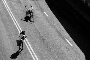 Wheelchair race #getoutside