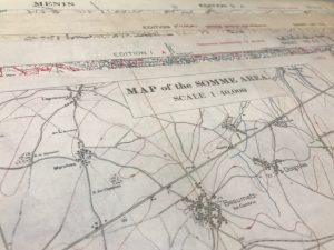 World War 1 Trench Maps - The Somme
