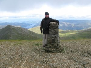 Father Hellvellyn trig point