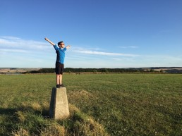 Spencer Codford Fort trig point