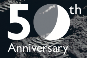 Logo for 50th anniversary of the Apollo 11 Space Mission